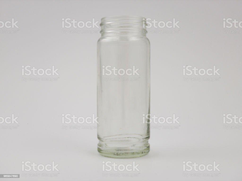 Open glazen test pot - Royalty-free Aromatherapie Stockfoto