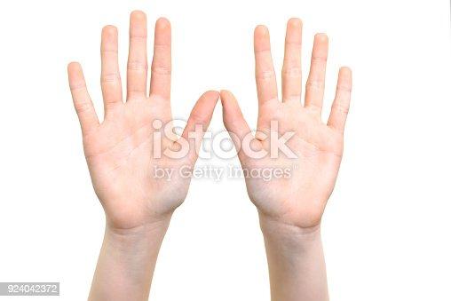 istock Open hands symbol 924042372