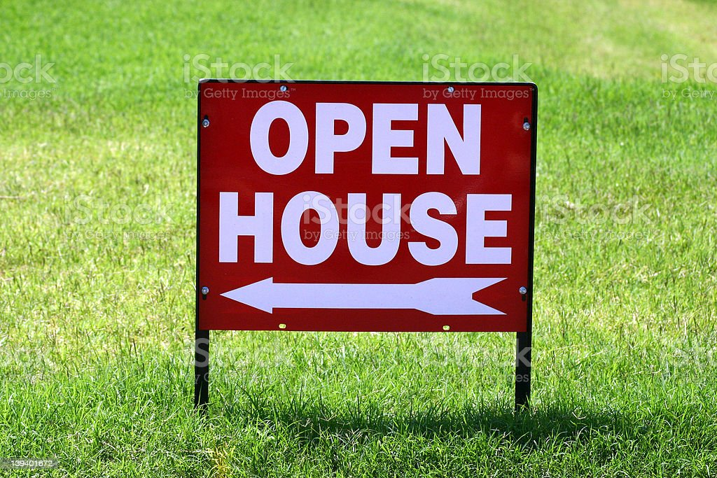 Open House royalty-free stock photo