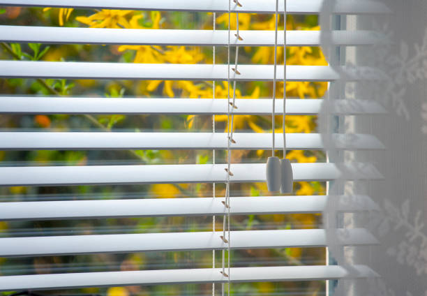 open jalousie - blinds stock pictures, royalty-free photos & images
