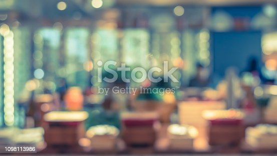 886308526istockphoto Open kitchen blur background in luxury hotel restaurant facility showing chef cooking over blurry food counter for buffet catering service 1098113986