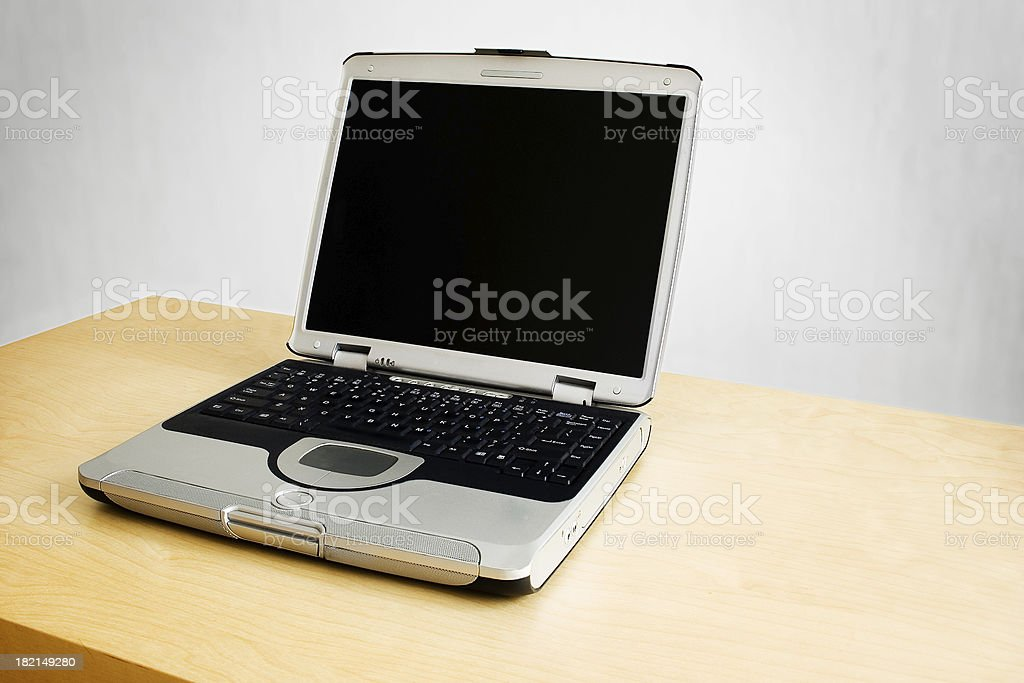 Open Laptop royalty-free stock photo