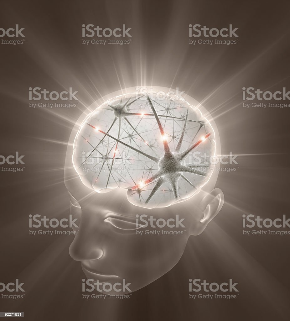 Open Mind Concept stock photo