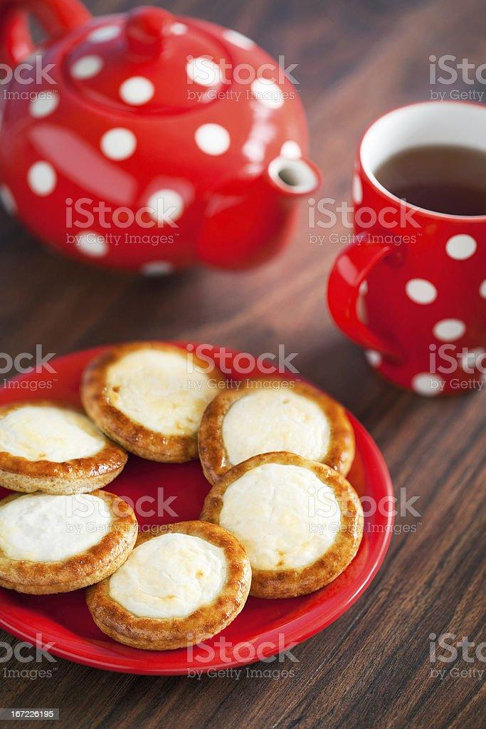 Open mini pies royalty-free stock photo