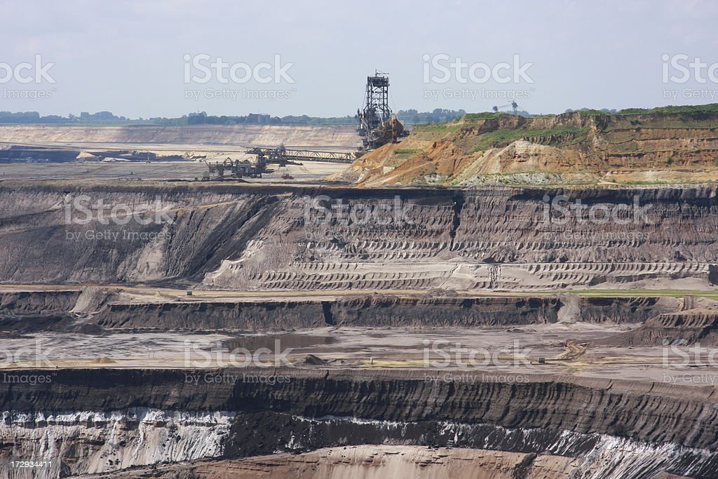 open mining royalty-free stock photo
