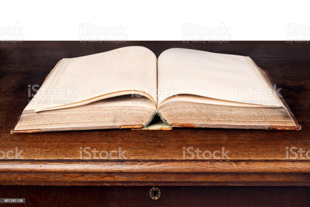 Photo Libre De Droit De Livre Ancien Ouvert Sur La Table