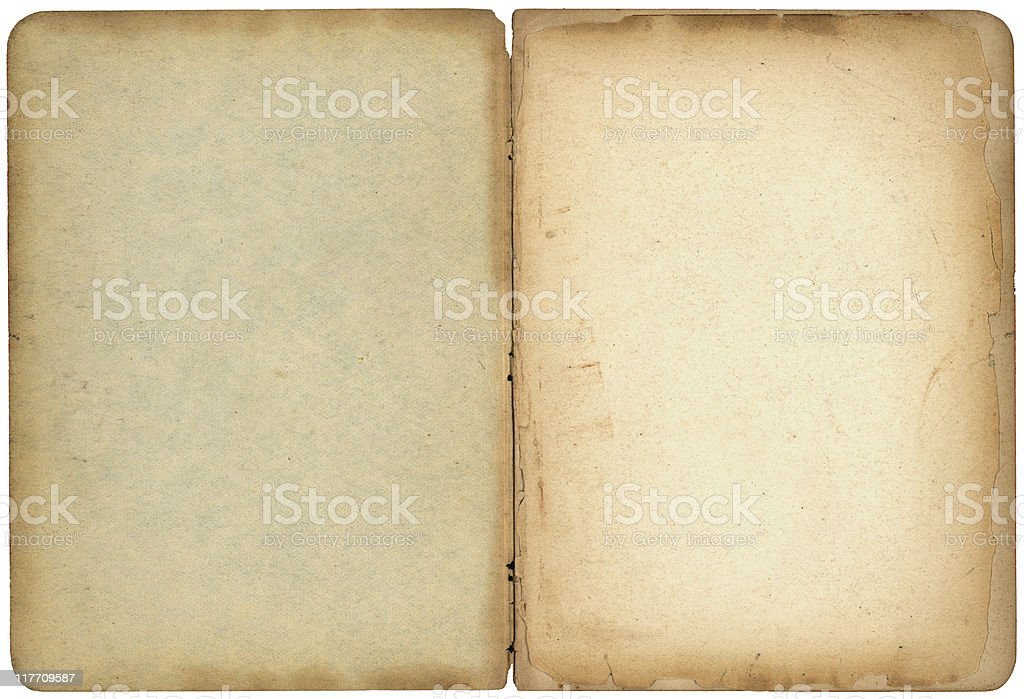Open Old Book royalty-free stock photo