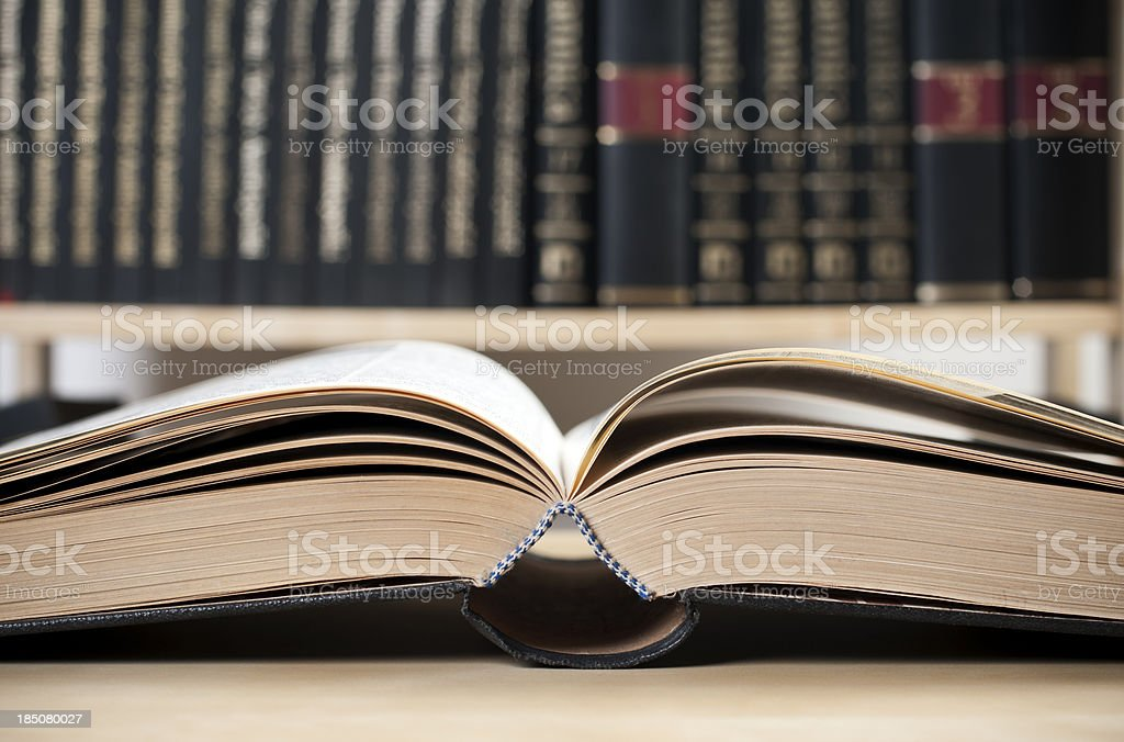 open old book stock photo