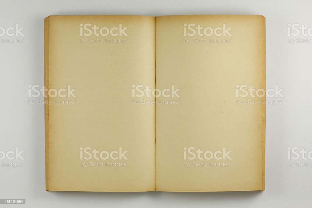 Open old Book - Stock Image stock photo