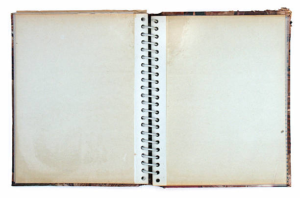 open old ring bound photo album - 相簿 個照片及圖片檔