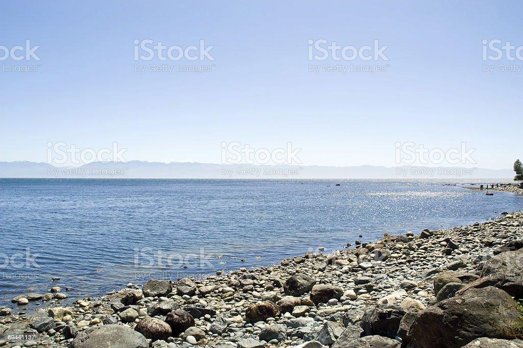 Otwórz Ocean Spokojny zbiór zdjęć royalty-free