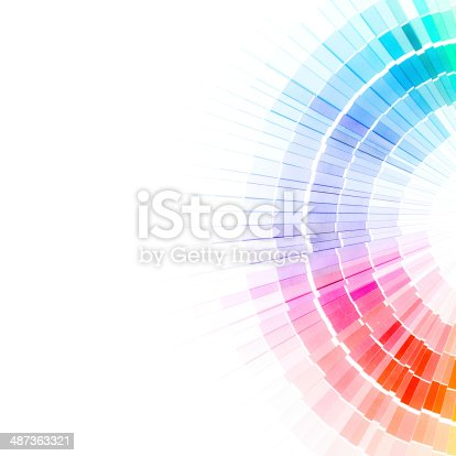 istock Open Pantone sample colors catalogue. 487363321