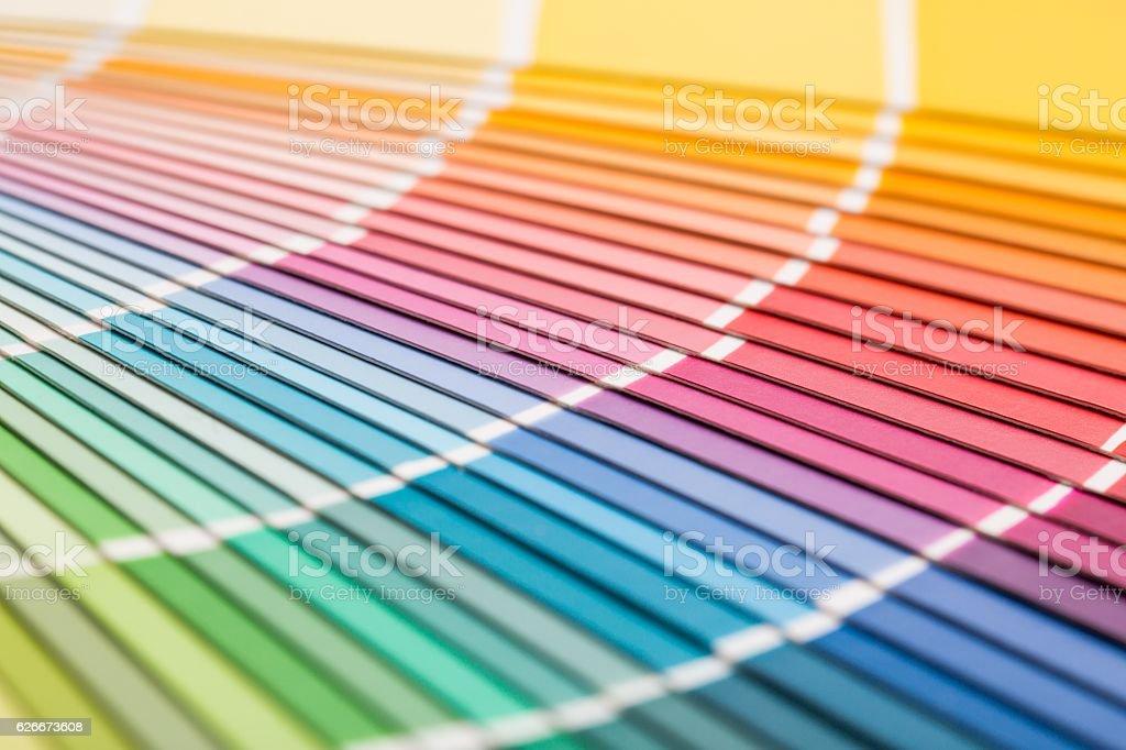 pantone サンプルカタログ色を開きます cmykのストックフォトや画像を