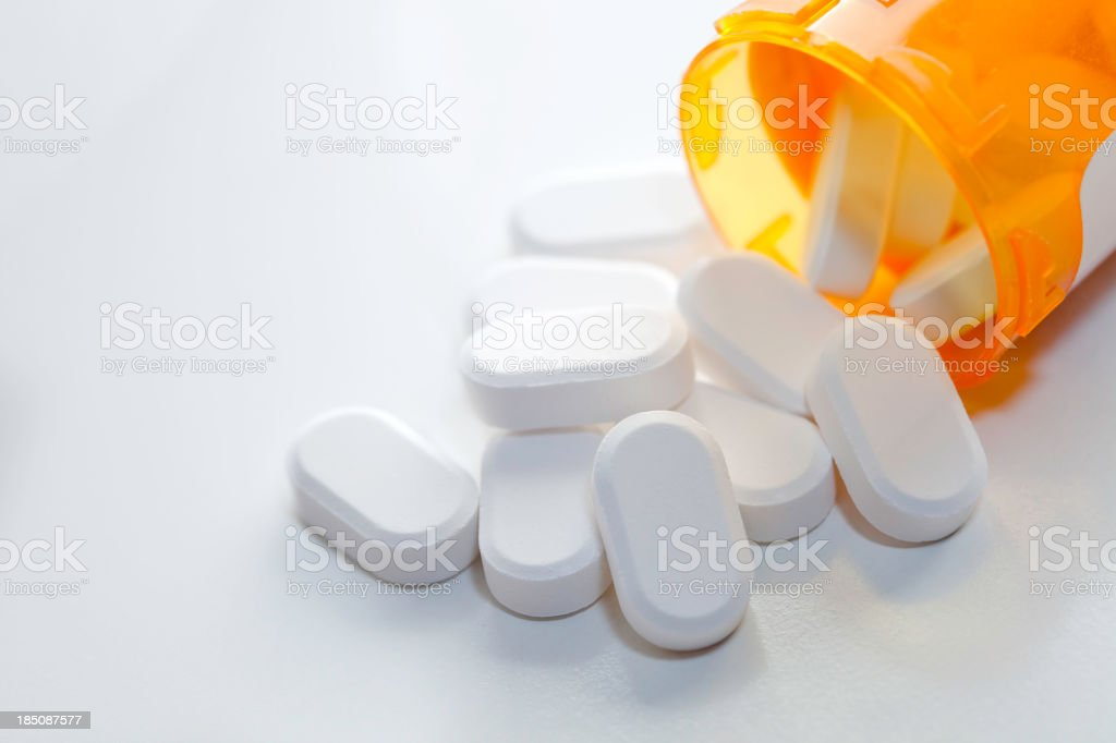 Open Pills royalty-free stock photo