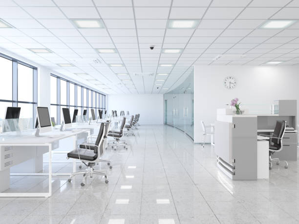 Open Plan Offices stock photo
