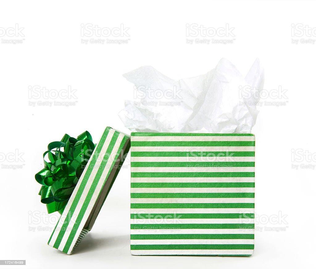 open present stock photo