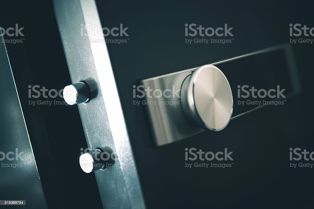 Open Residential Safe stock photo