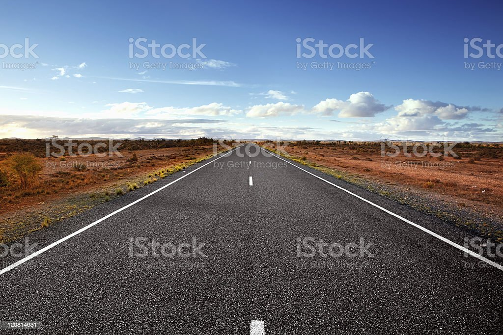 Open Road stock photo