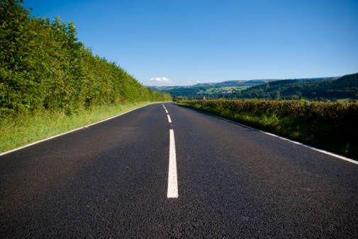 Open Road Stock Photo - Download Image Now