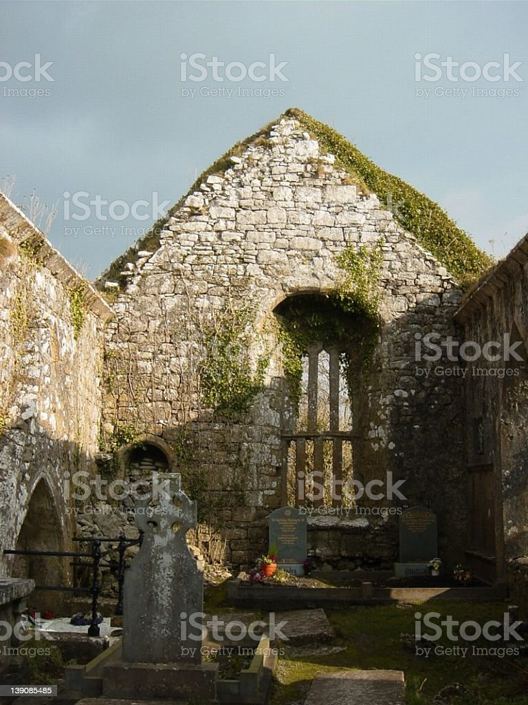 open roof abby royalty-free stock photo