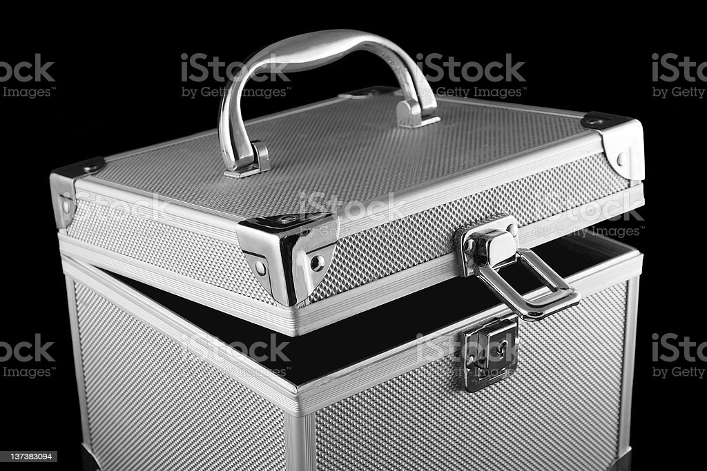 open safe box royalty-free stock photo