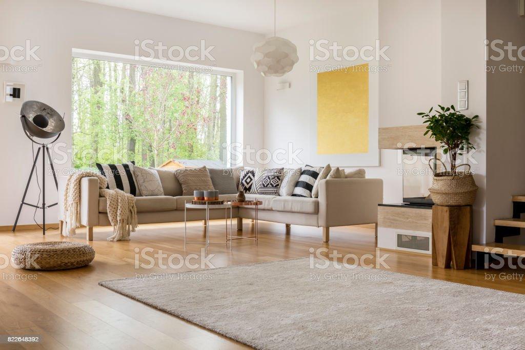 Freifläche in Wohnung Lizenzfreies stock-foto