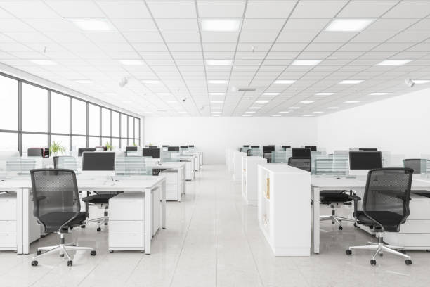 Open Space Office Open Space Office no people stock pictures, royalty-free photos & images