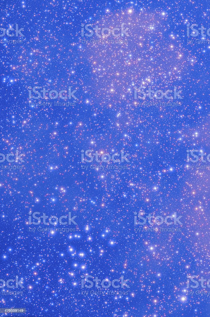 Open Star Cluster royalty-free stock photo