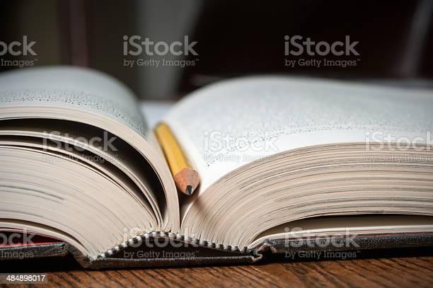 Open Text Buchen Stockfoto und mehr Bilder von Bildung