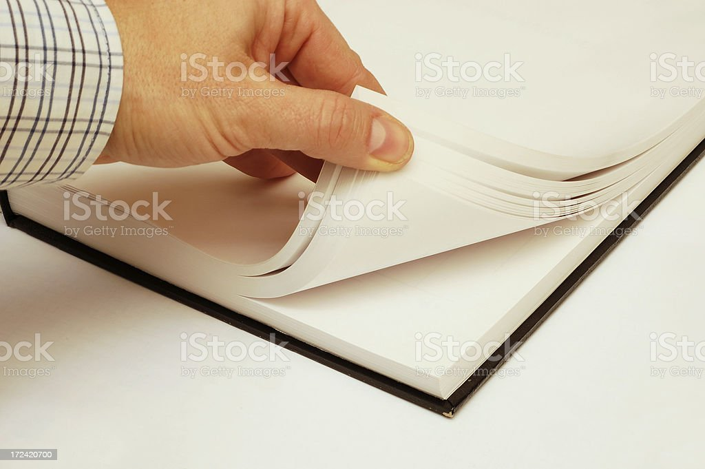 open the books! royalty-free stock photo