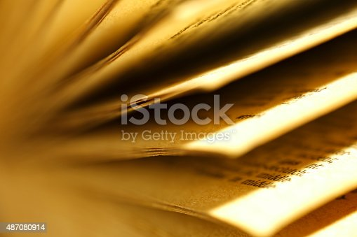 istock Open the pages of old books 487080914