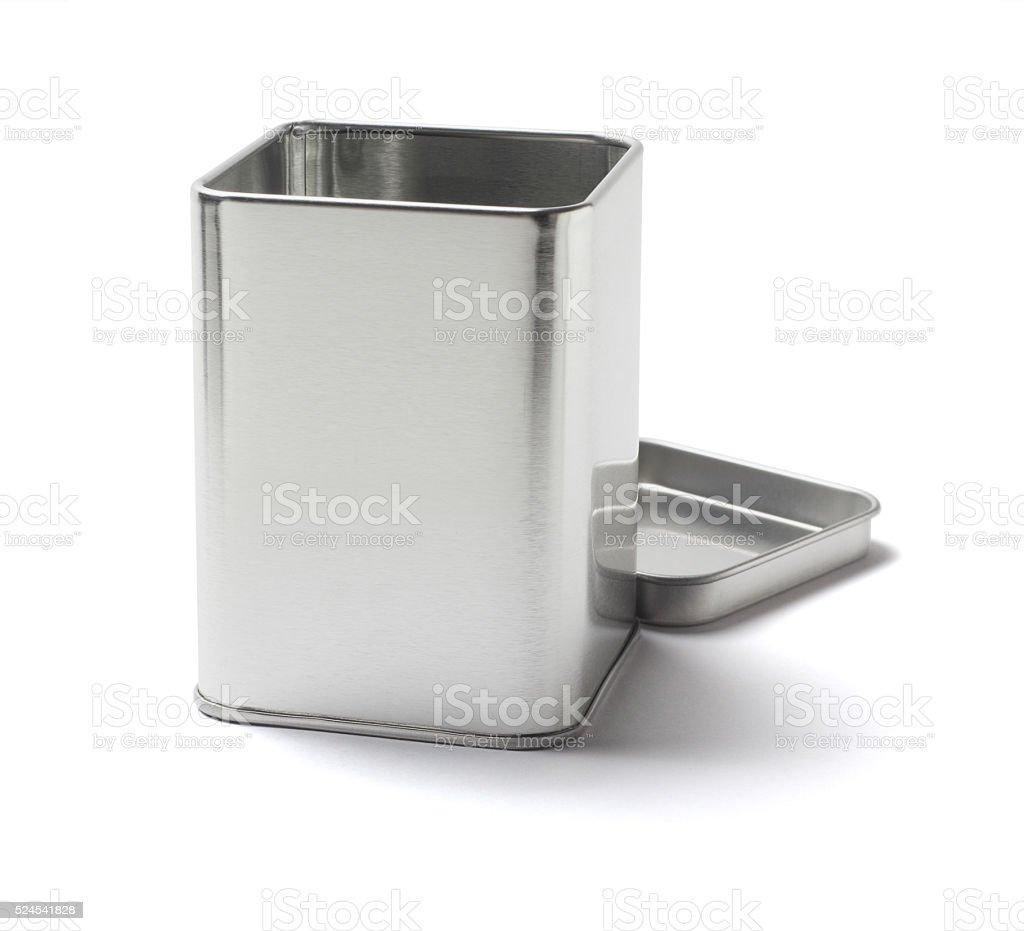 Open Tin Can stock photo
