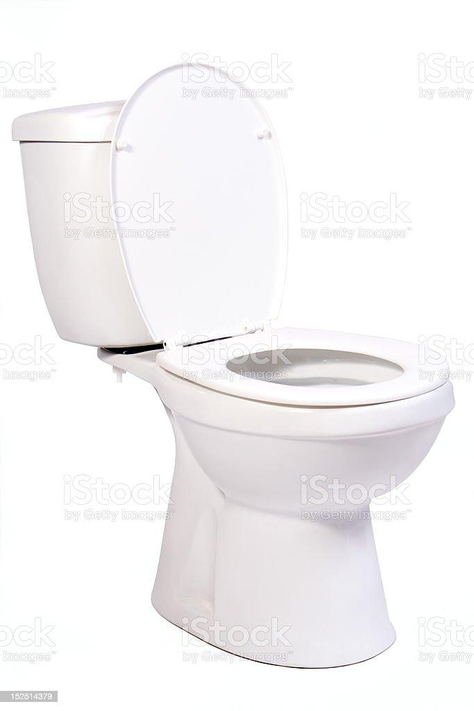 open toilet bowl royalty-free stock photo