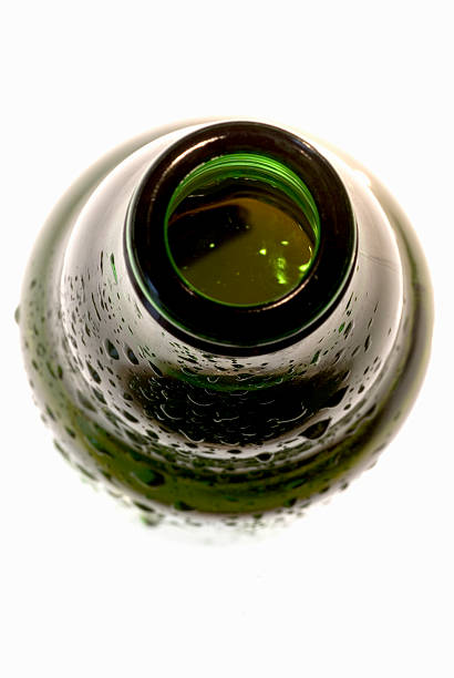 Open top of beer bottle, close up Open top of beer bottle, close up. pilsner stock pictures, royalty-free photos & images