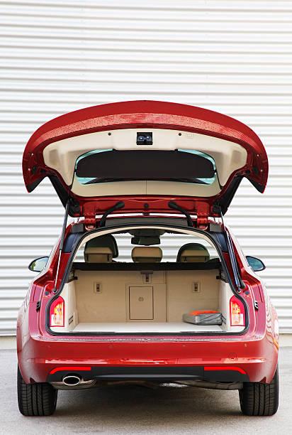 Offene trunk an Sport Tourer – Foto