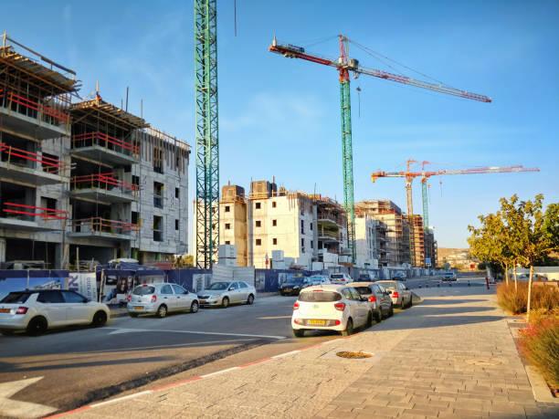 Open Valley development project in Beer Sheva stock photo