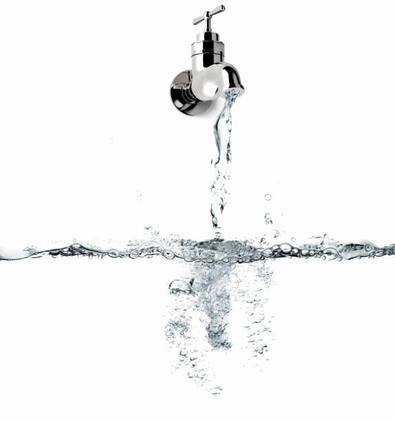 açık su musluk - tap water stok fotoğraflar ve resimler