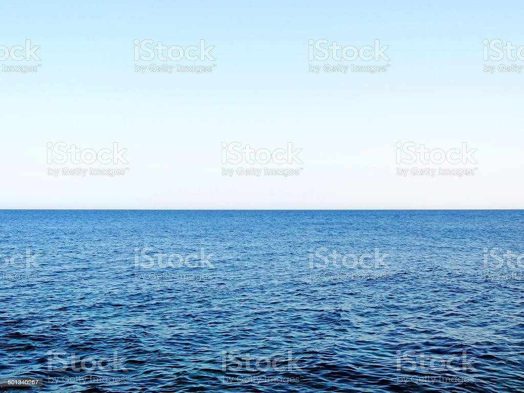 Open water stock photo