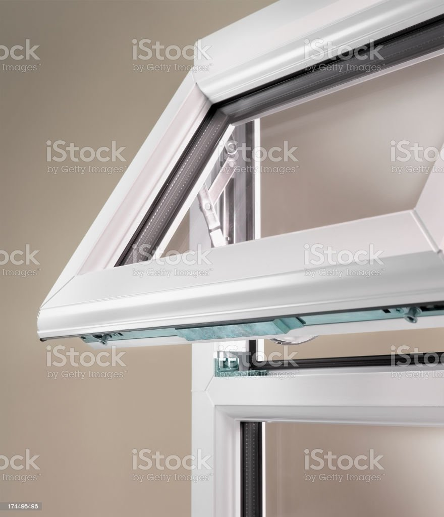 Open window stock photo