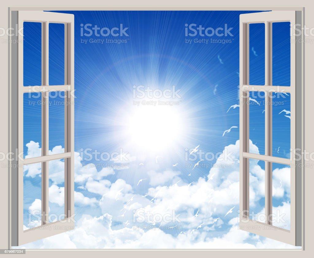 Open window – Foto