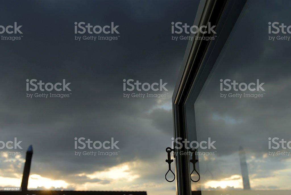 Open Window View royalty-free stock photo