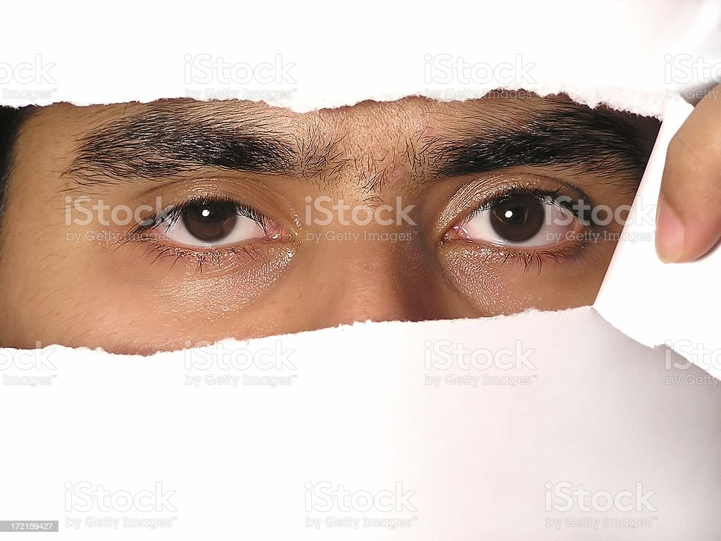 Open Your Eyes !!! stock photo