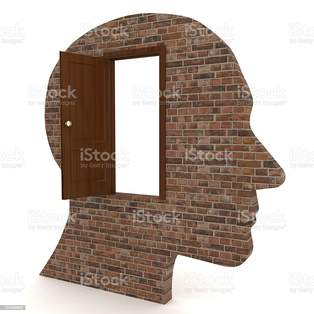 Open Your Mind royalty-free stock photo