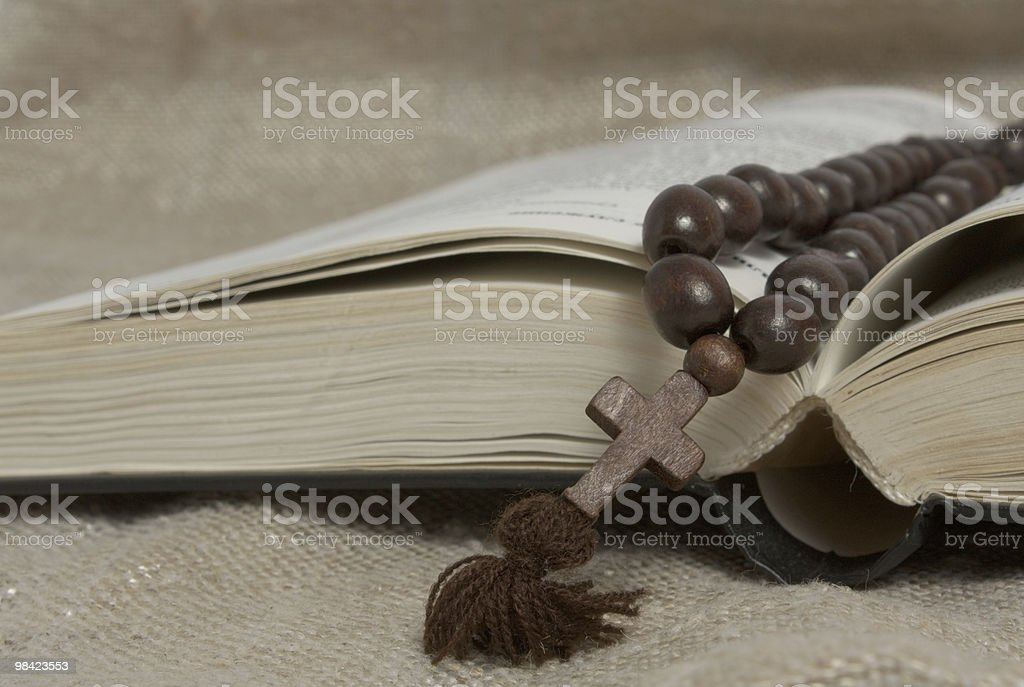 opened bible royalty-free stock photo
