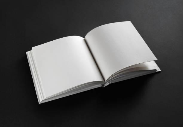 livre ouvert vide - livre ouvert photos et images de collection