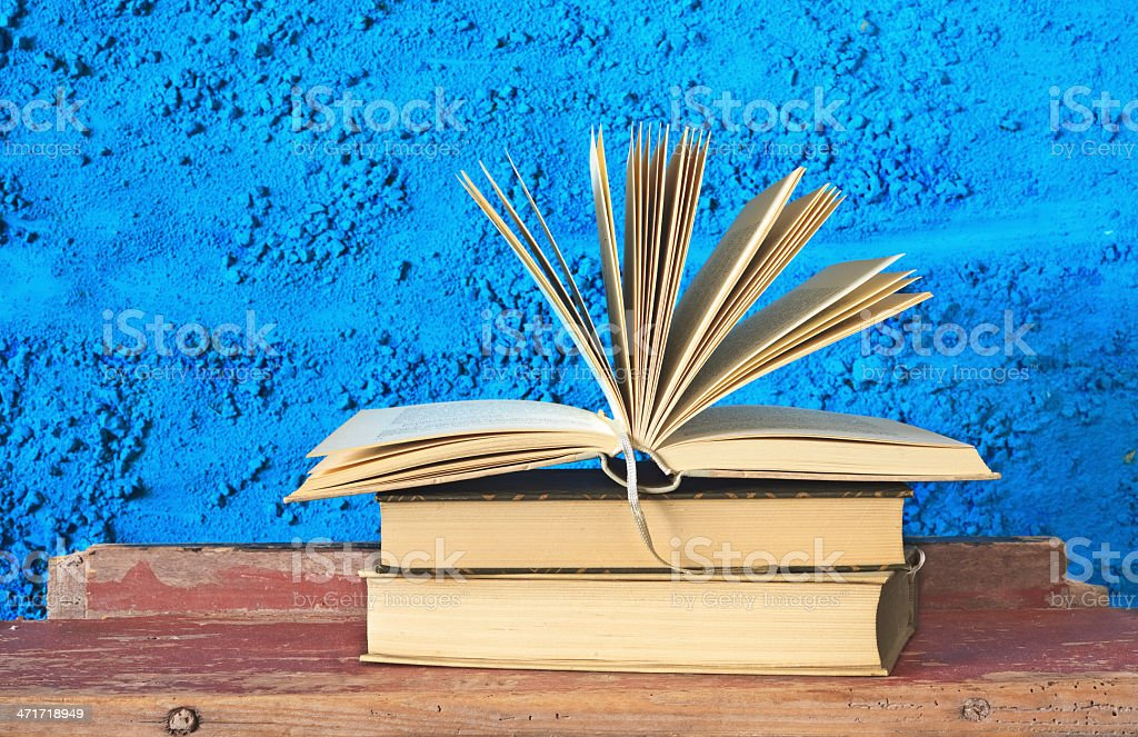 opened book royalty-free stock photo