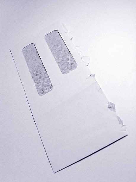Opened Envelope stock photo