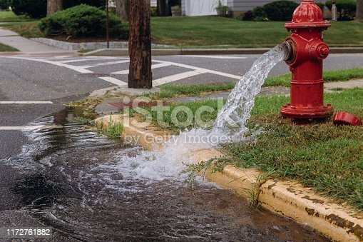 Opened fire hydrant later leak spray in residents open fire hydrants