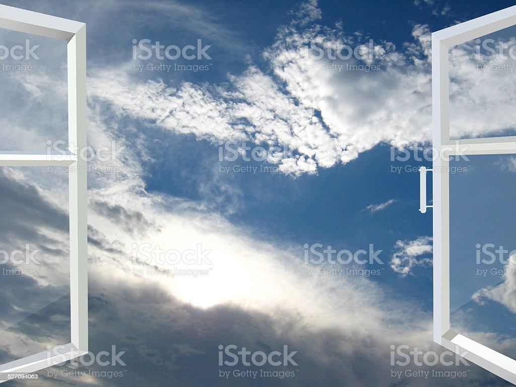 Ouvrir la fenêtre au paradis - Photo