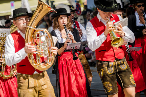 Eröffnungsfeier des Oktoberfestes, München, Deutschland – Foto